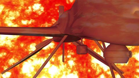 Predator Type Drone 7 firestorm Animation
