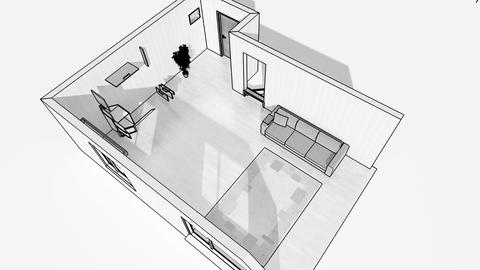 Interior creation, wireframe Stock Video Footage