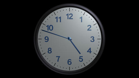 mac clock ticking with alpha Animation