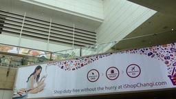 Singapore Changi Airport Terminal 2. (SINGAPORE CH Footage