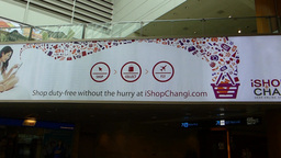 Singapore Changi Airport Terminal 2. (SINGAPORE CH Stock Video Footage