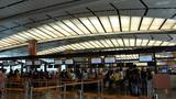Singapore Changi Airport Terminal 2. (SINGAPORE CH Stock Video Footage