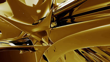 Dynamic abstract metal material.Alloy high-tech science... Stock Video Footage