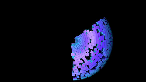 PYRAMIDS 011 vj loop Animation