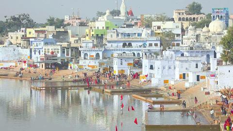 City of Pushkar Stock Video Footage