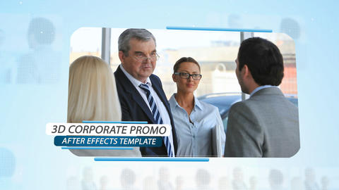 3d Corporate Promo - After Effects Template After Effects Template