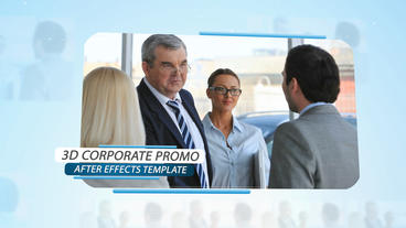 3d Corporate Promo - After Effects Template After Effects Project