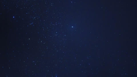 Stars in the sky. Time Lapse Footage