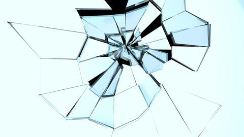 Glass Break 04 Stock Video Footage