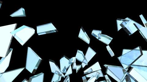 Glass Break 02 Stock Video Footage