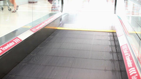 Motion Travelator stock footage