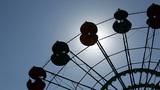 Ferris Wheel in Park Footage
