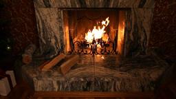 House Fireplace Footage