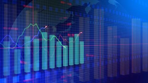 Graph Ba HD Stock Video Footage
