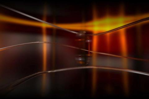 Media TV Cristal Transition Stock Video Footage
