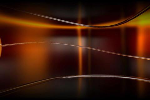 Media TV Cristal Transition Animation