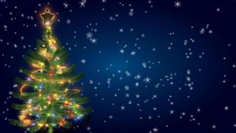 christmas tree 04 Stock Video Footage
