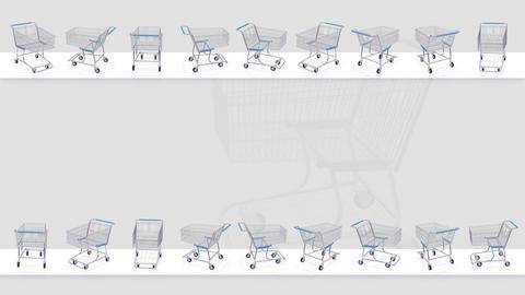 Shoppingcart Frame Be HD Stock Video Footage
