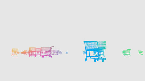 Shoppingcart Run De HD Animation