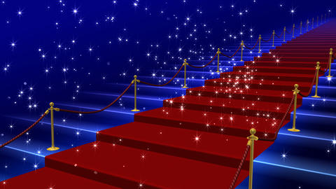 Red Carpet AkS HD stock footage
