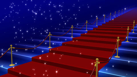 Red Carpet AkS HD Stock Video Footage