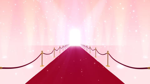 Red Carpet PfL HD Stock Video Footage