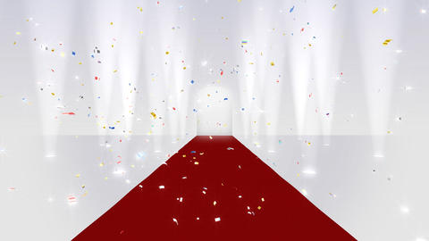 Red Carpet WfF HD Stock Video Footage