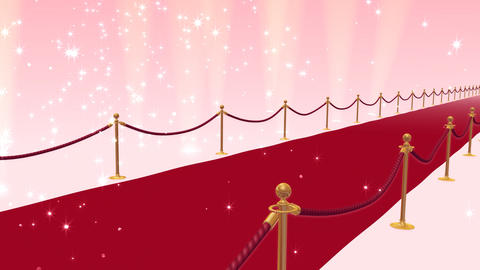 Red Carpet PfS HD Stock Video Footage