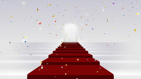 Red Carpet WkF HD Stock Video Footage