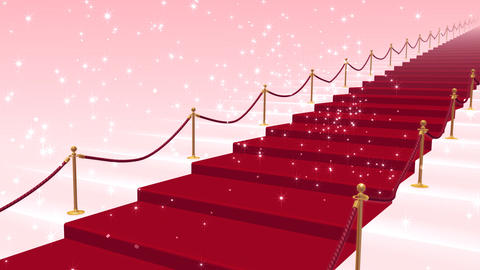 Red Carpet PkS stock footage