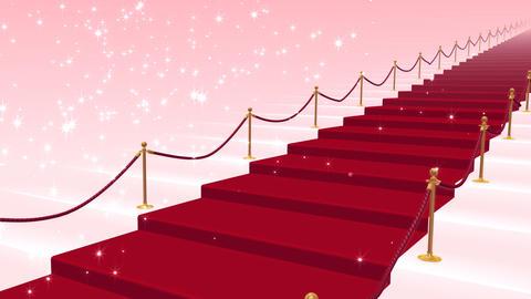 Red Carpet PkS Stock Video Footage