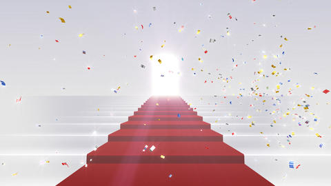 Red Carpet WkL stock footage