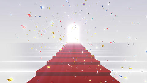 Red Carpet WkL Stock Video Footage