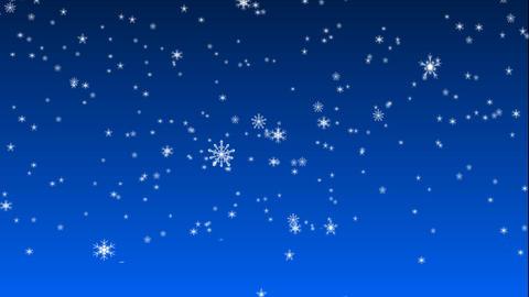 christmas snow 02 Stock Video Footage
