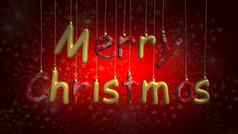 merry christmas 03 Stock Video Footage