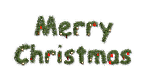 merry christmas 05 Stock Video Footage
