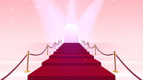 Red Carpet PkF HD Stock Video Footage