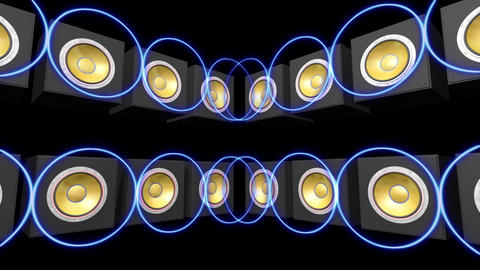 Speakers Stage Ab HD Stock Video Footage