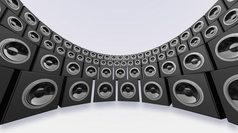Speaker Spe C4a HD Animation