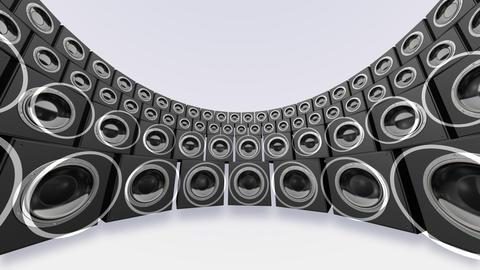 Speaker Spe C4a HD Stock Video Footage