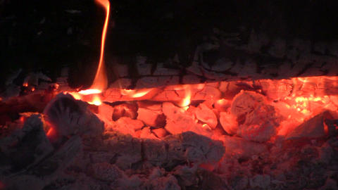 Bonfire 2 Stock Video Footage