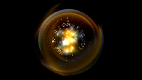 ntsc circular data0001 Stock Video Footage