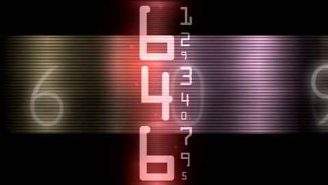 ntsc numbers and data0001 Animation
