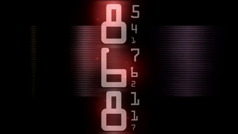 ntsc numbers and data0001 Stock Video Footage
