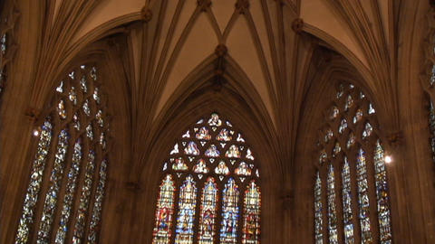 Wells Cathedral WonderfulShot Stock Video Footage
