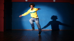 Hip-hop Dancer stock footage