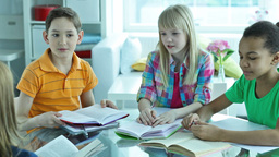 Smart Students stock footage