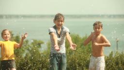 Children Enjoying Footage