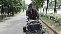 Homeless Man Footage