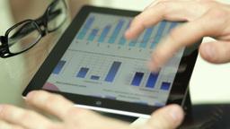 Hi-tech Analysis stock footage